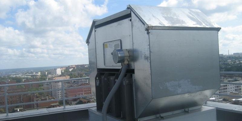 крышный вентилятор