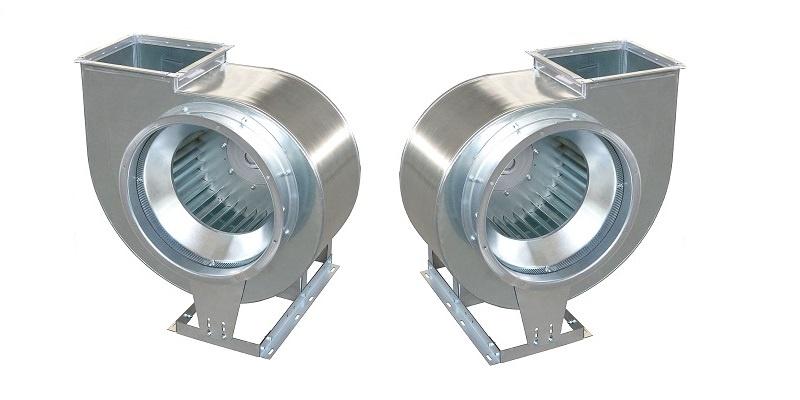 коррозионностойкие вентиляторы