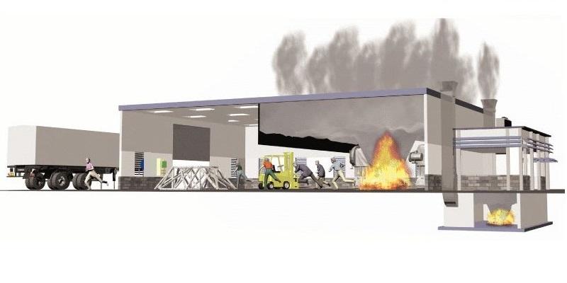 система дымоудаления
