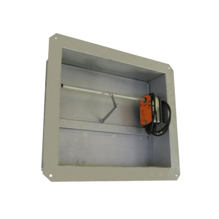 Дымовой клапан КДМ-2м/КДМ-2с