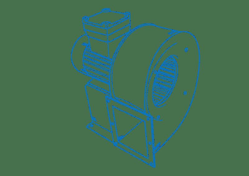 конструкция вентилятора-улитки