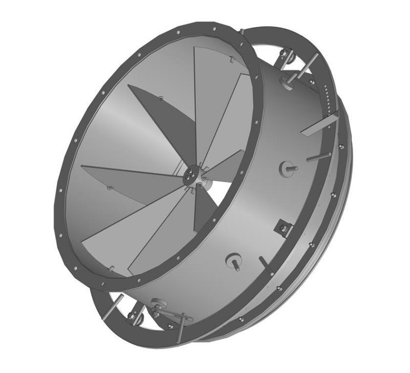 Направляющий аппарат вентилятора