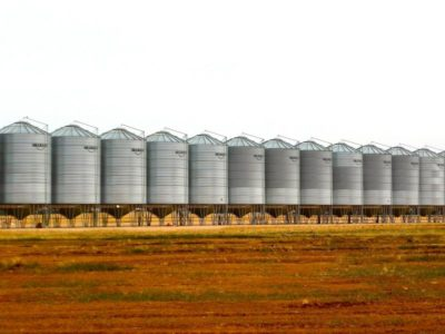 вентиляция зернохранилищ, фото