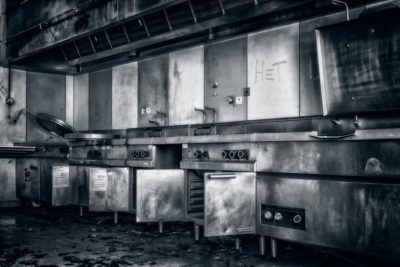 Вентиляция горячего цеха, фото